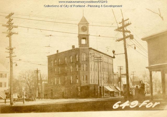 645-653 Forest Avenue, Portland, 1924