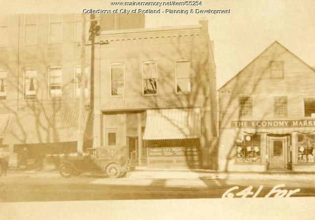 645 Forest Avenue, Portland, 1924