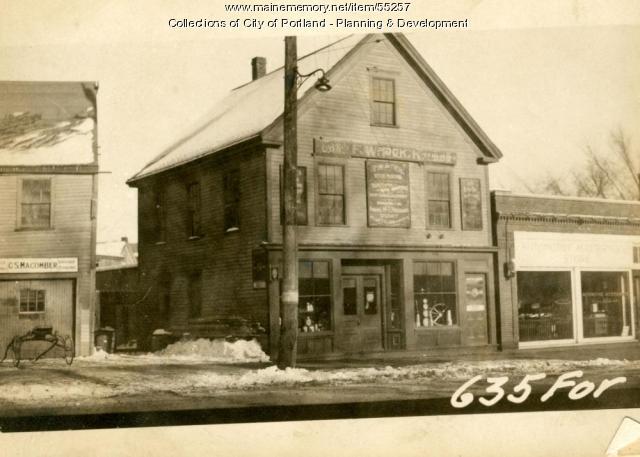 635-641 Forest Avenue, Portland, 1924