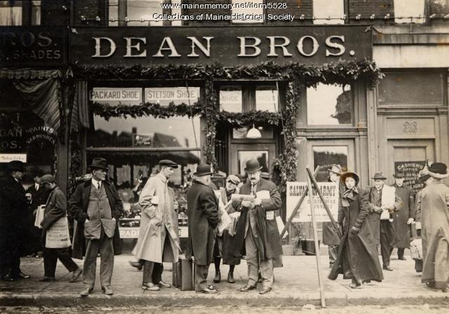 Dean Bros. Shoe Company, ca. 1912