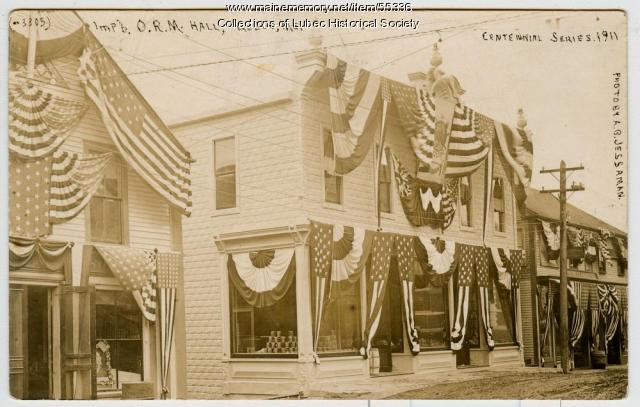 Pike Building, Lubec, 1911
