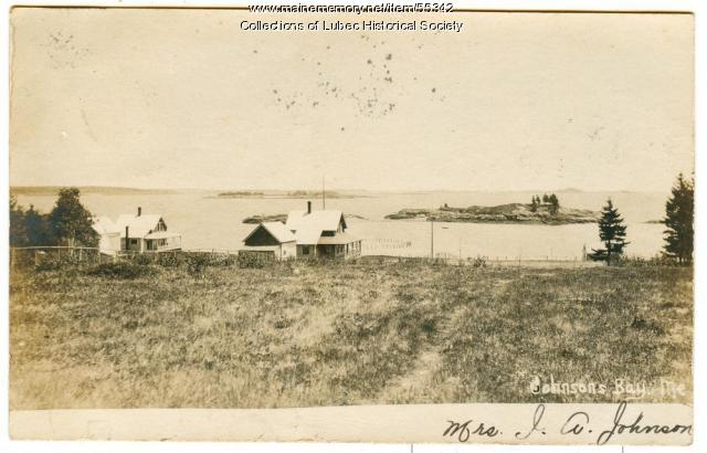 Johnson's Bay, Lubec, ca. 1906