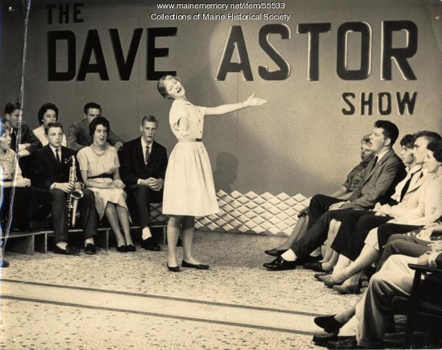 """""""Dave Astor Show,"""" Portland, ca. 1964"""