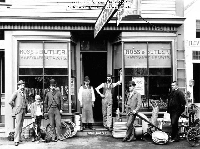 Ross and Butler store, Springvale, ca. 1890