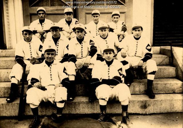 Sanford High School Baseball Team, 1912