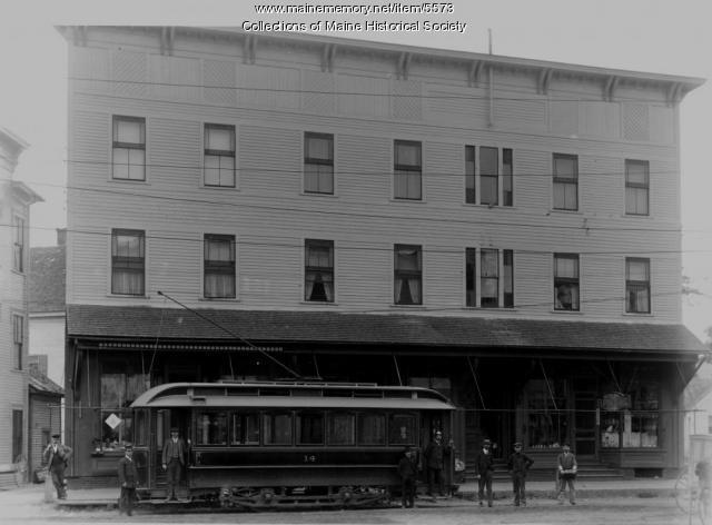 Sanford electric railroad, ca. 1900