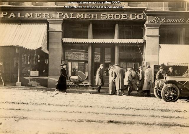 Palmer and Palmer Shoe Company, ca. 1912