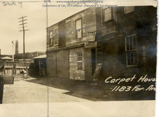 1179-1183 Forest Avenue, Portland, 1924