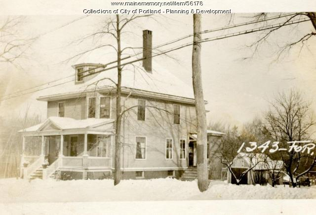 1343 Forest Avenue, Portland, 1924
