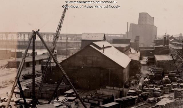 Portland Company, Fore Street, ca. 1920