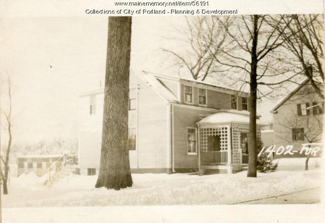 1402 Forest Avenue, Portland, 1924