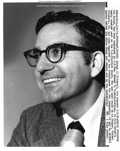 George J. Mitchell in 1979