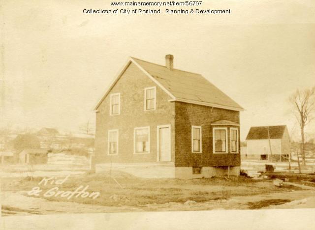 Dwelling, Grafton Street, Portland, 1924