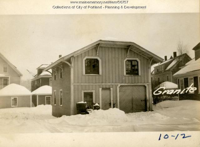 44-46 Granite Street, Portland, 1924