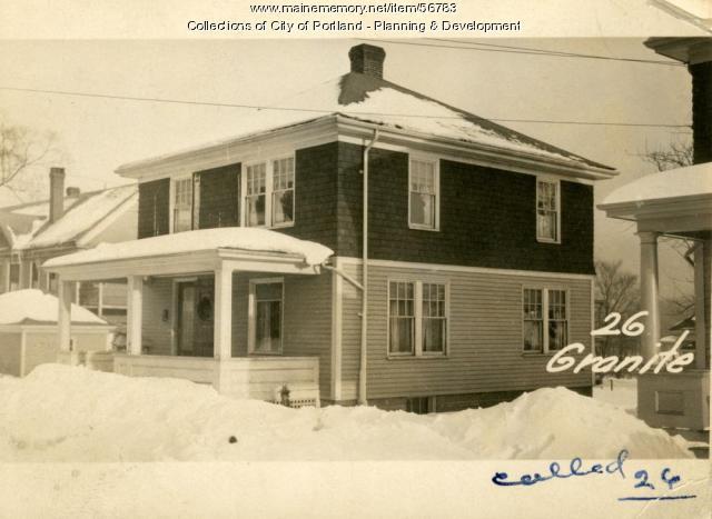 18-20 Granite Street, Portland, 1924