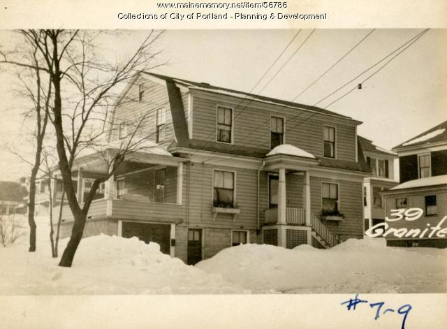 41-45 Granite Street, Portland, 1924