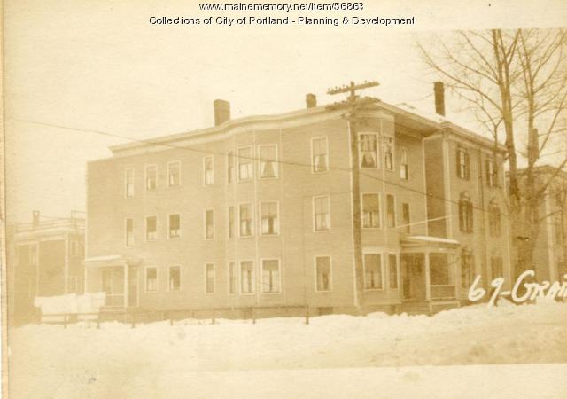 69-71 Grant Street, Portland, 1924