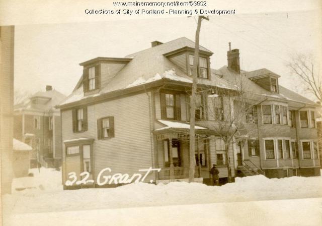 32 Grant Street, Portland, 1924