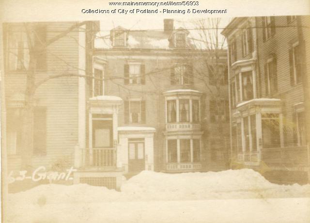 61-67 Grant Street (rear), Portland, 1924