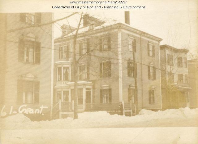 61-67 Grant Street, Portland, 1924