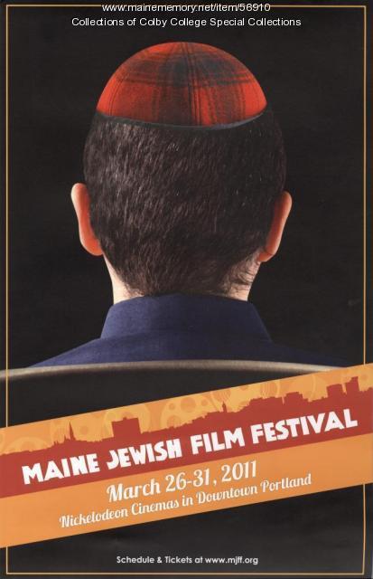 Maine Jewish Film Festival Poster, 2011