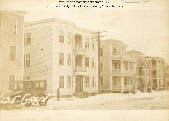 123-125 Grant Street, Portland, 1924