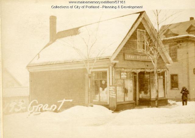 193-195 Grant Street, Portland, 1924