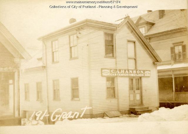 191 Grant Street, Portland, 1924