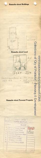 64-68 Gray Street, Portland, 1924