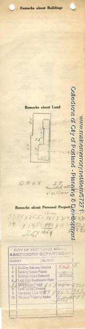 67-69 Gray Street, Portland, 1924