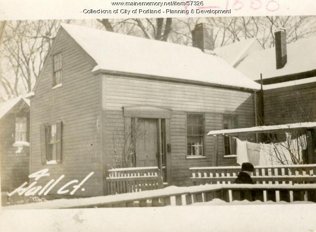 8 Hall Court, Portland, 1924