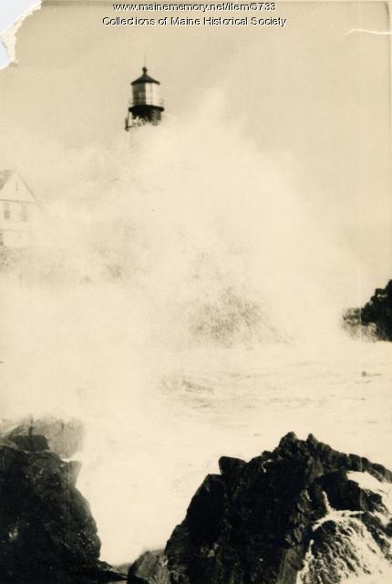 Portland Head Light, 1938