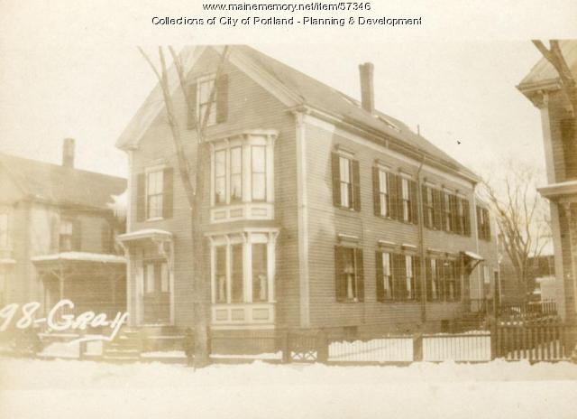 98-100 Gray Street, Portland, 1924