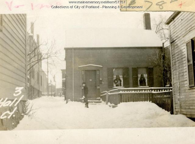 9-11 Hall Court, Portland, 1924
