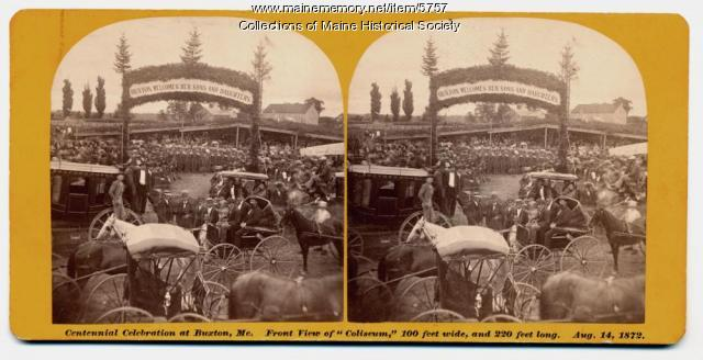 Buxton Centennial Celebration, 1872