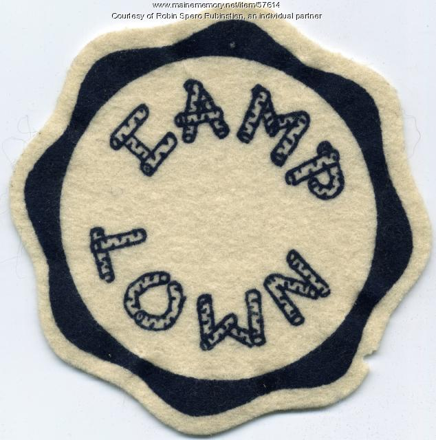 Camp Lown patch, Oakland, ca. 1960