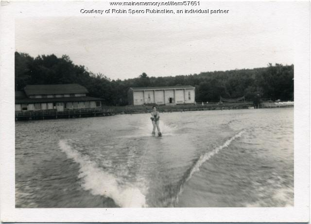 Waterskiing, Camp Lown, ca. 1960