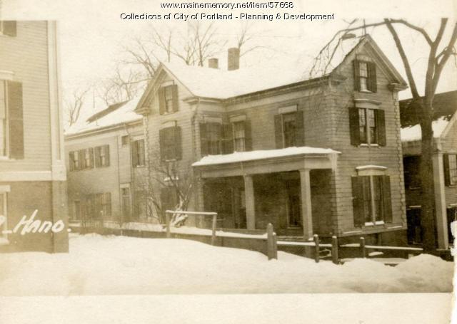 8 Hanover Street, Portland, 1924