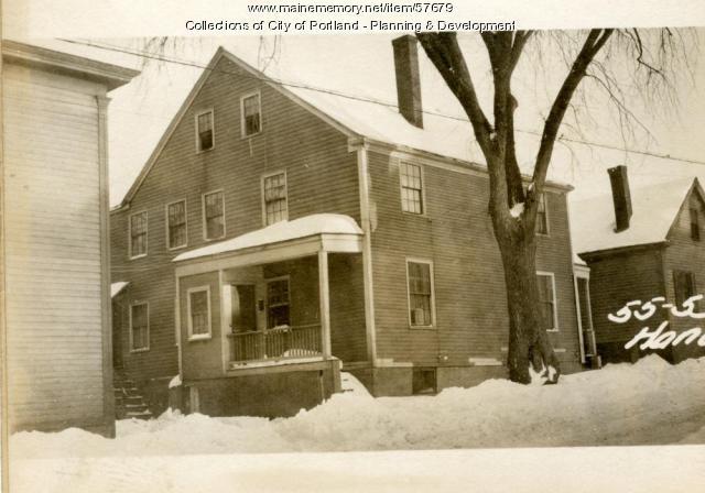 55 Hanover Street, Portland, 1924