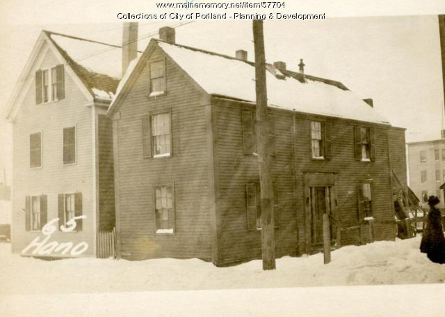 65 Hanover Street, Portland, 1924