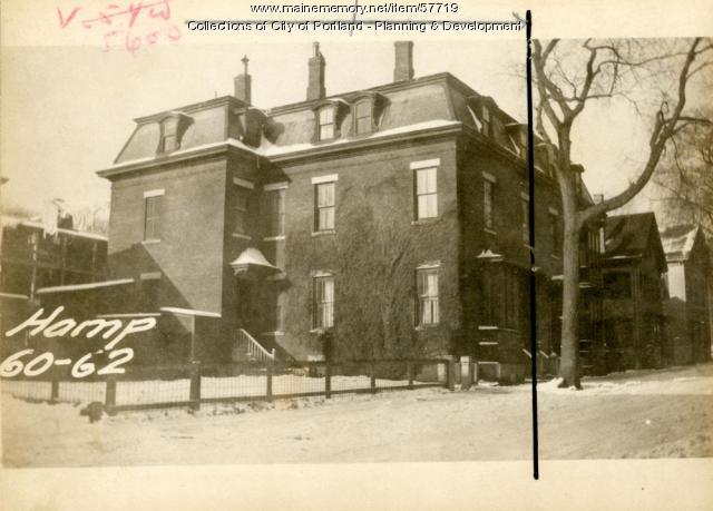 56-60 Hampshire Street, Portland, 1924