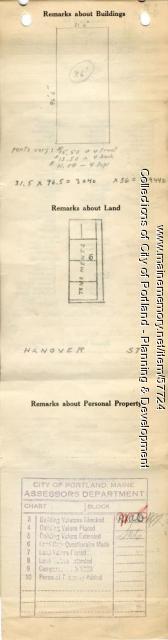 57 Hanover Street, Portland, 1924