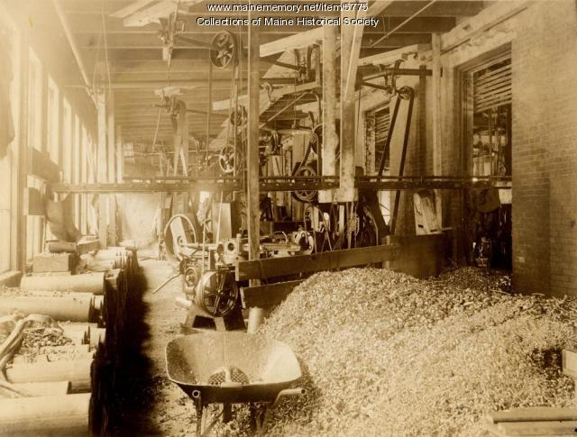 Ordnance production at the Portland Company