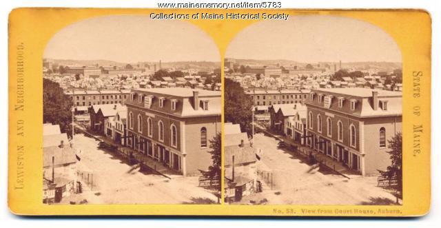 Lewiston as seen from Auburn, ca. 1900