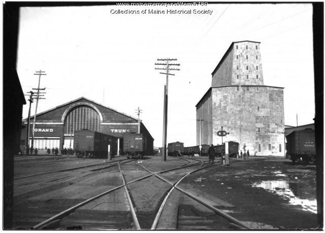 Grand Trunk Railroad yards, ca. 1890