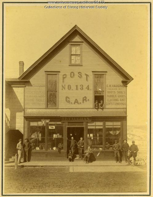 G.A.R. Post No. 134, Strong, ca. 1890
