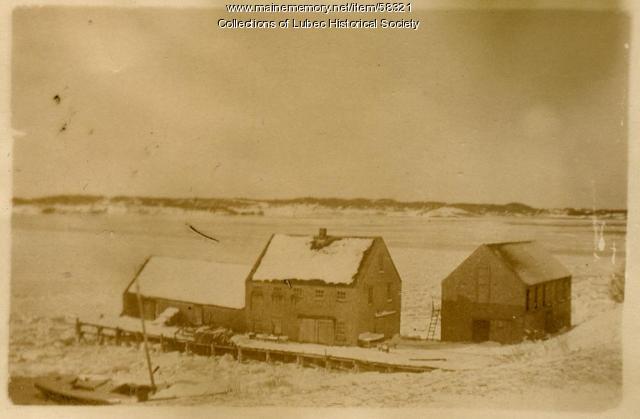 Wilcox Herring Stand, Lubec, ca. 1918