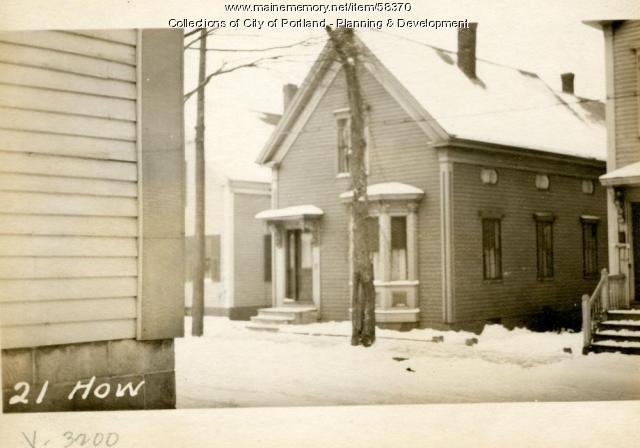 21 Howard Street, Portland, 1924