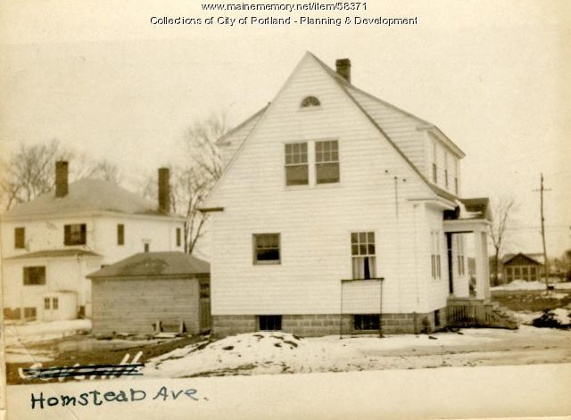 4 Homestead Avenue, Portland, 1924