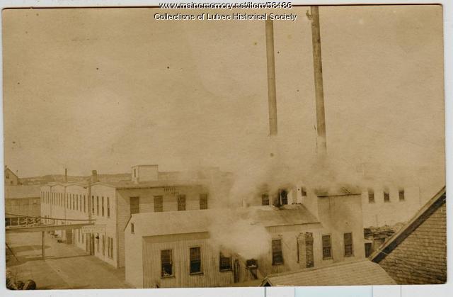 American Can Company, Lubec, 1911
